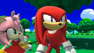 Knuckles in Lost World