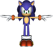 Smash Bros Wii U Sonic Alt Costume Model 7