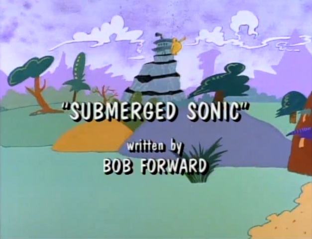 File:Submerged Sonic Title Screen.png