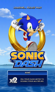 Sonic Dash Loading
