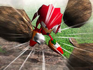 Sonic R artwork Knuckles
