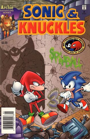File:Archie Sonic & Knuckles Issue 1.jpg