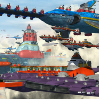 El Eggman Fleet en <i><a href=