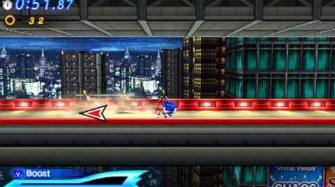 Sonic Generations 3DS - Shadow