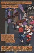 Sonic X issue 14 page 1