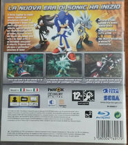 Sonic The Hedgehog (2006) - Box Artwork - Italian Front And Back- (1)