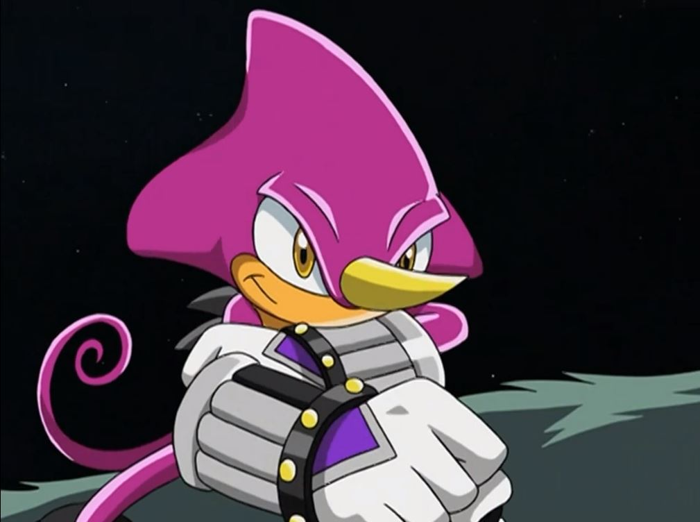 Espio fight back