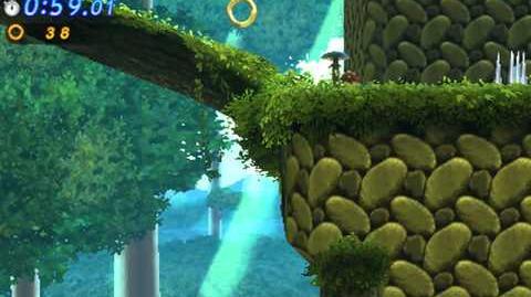 Sonic Generations 3DS - Classic Mushroom Hill