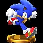 Trophy 610 - Sonic the Hedgehog (SSB for Wii U)