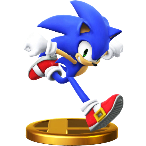 File:Trophy 610 - Sonic the Hedgehog (SSB for Wii U).png