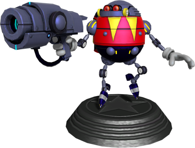 File:Sonic Generations Eggrobo Statue.png