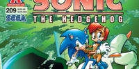Archie Sonic the Hedgehog Issue 209