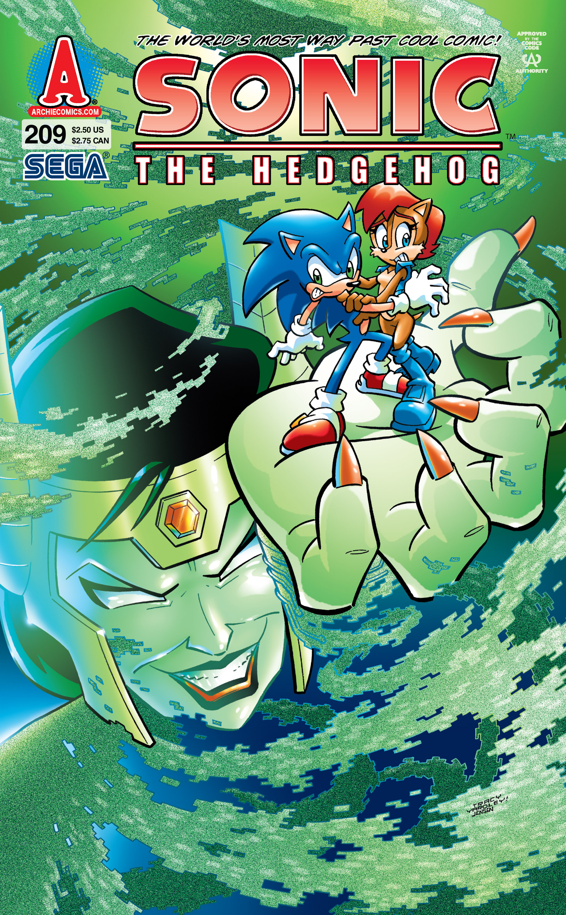 archie sonic the hedgehog issue 209 sonic news network