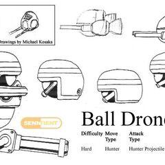 Concepto del Badnick Ball Drone.