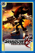 Shadow Hedgehog Card