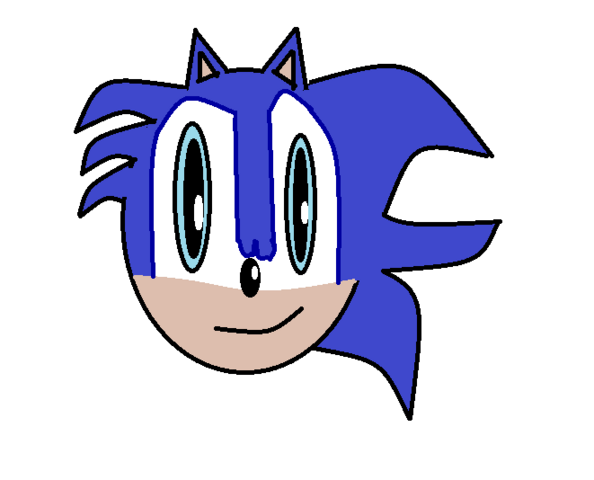 File:Anthony the Hedgehog Remade Head.png