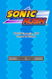 Rush titlescreen