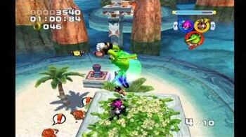 Sonic Heroes Seaside Hill (Team Chaotix)-0