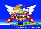 Title Screen - Sonic the Hedgehog 2
