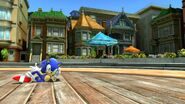 Sonic Modern in City Escape