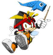Charmy Bee sonic channel