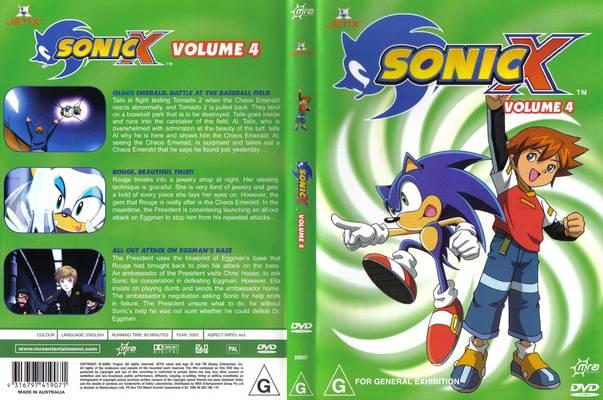 File:Sonic X Volume 4 AUS cover.jpg