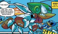 Speedy's armor