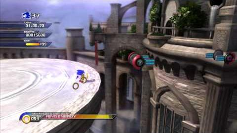 Sonic Unleashed (PS3) Spagonia Rooftop Run Day Act 2 S-Rank