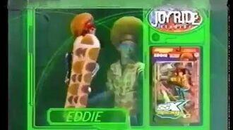 2002 Joyride Studios Action Figures Commercial