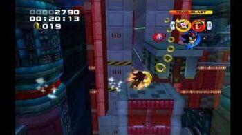 Sonic Heroes Final Fortress (Team Dark)