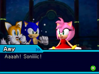 Amy Sonic Colors DS