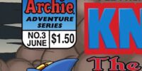 Archie Knuckles the Echidna Issue 3
