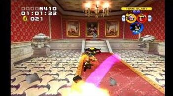Sonic Heroes Mystic Mansion (Team Dark)