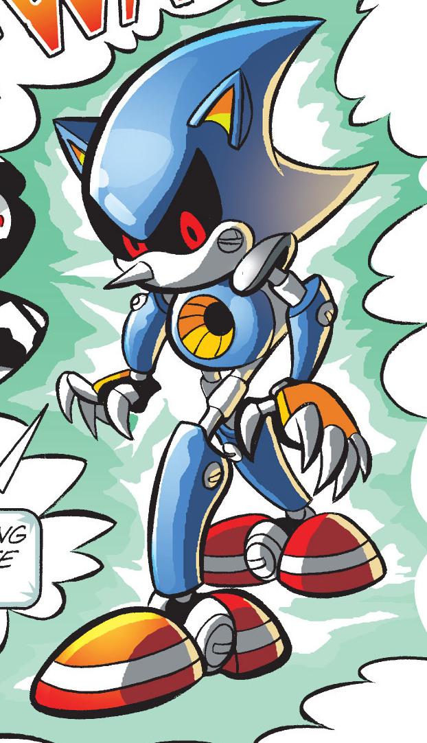 Metal Sonic Series Sonic News Network Fandom Powered