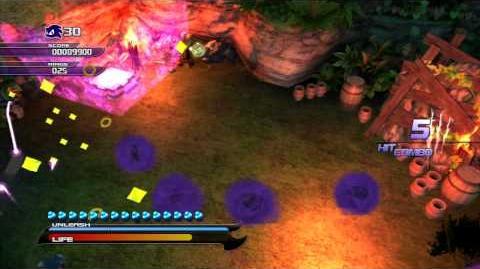 Sonic Unleashed (PS3) Adabat Jungle Joyride Night Act 2 S-Rank