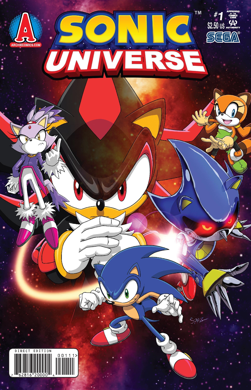 Sonic Universe #4 - Comic Book Preview - Comic Vine