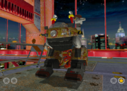 SA2 shooting eggman alternate
