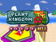 Plant Kingdom Act 1 Blaze title card