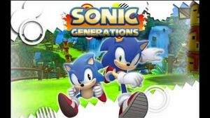 "Sonic Generations ""City Escape Modern "" Music"