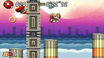 Sonic Advance 3 - Zone 7 Chaos Angel - Act 1 2 3 & VS Boss