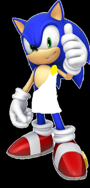 Sonic in toga
