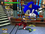 Spike out sonic cameo