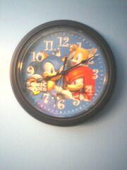 Sonic Heroes Wall Clock