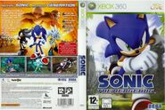 Sonic The Hedgehog (2006) - Box Artwork - French Front And Back- (1)