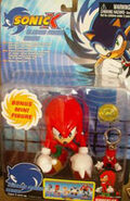 Toy Island Sonic X Knuckles with Keychain