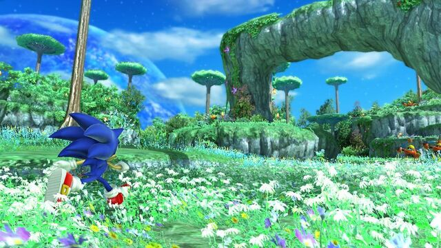 File:Sonic in Planet Wisp.jpg
