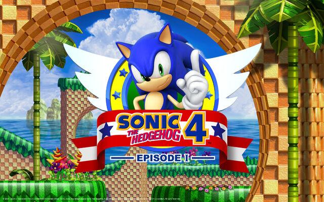 File:Sonic The Hedgehog 4 - Episode 1- Wallpaper - (2).jpg