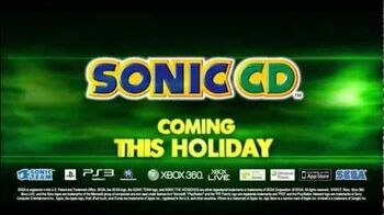 Sonic CD 2011 - Debut Trailer HD