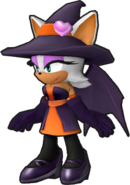 Sonic Runners Halloween Rouge model