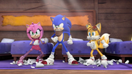 S2E05 Sonic Amy and Tails